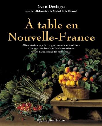 Gastronomie nouvelle france