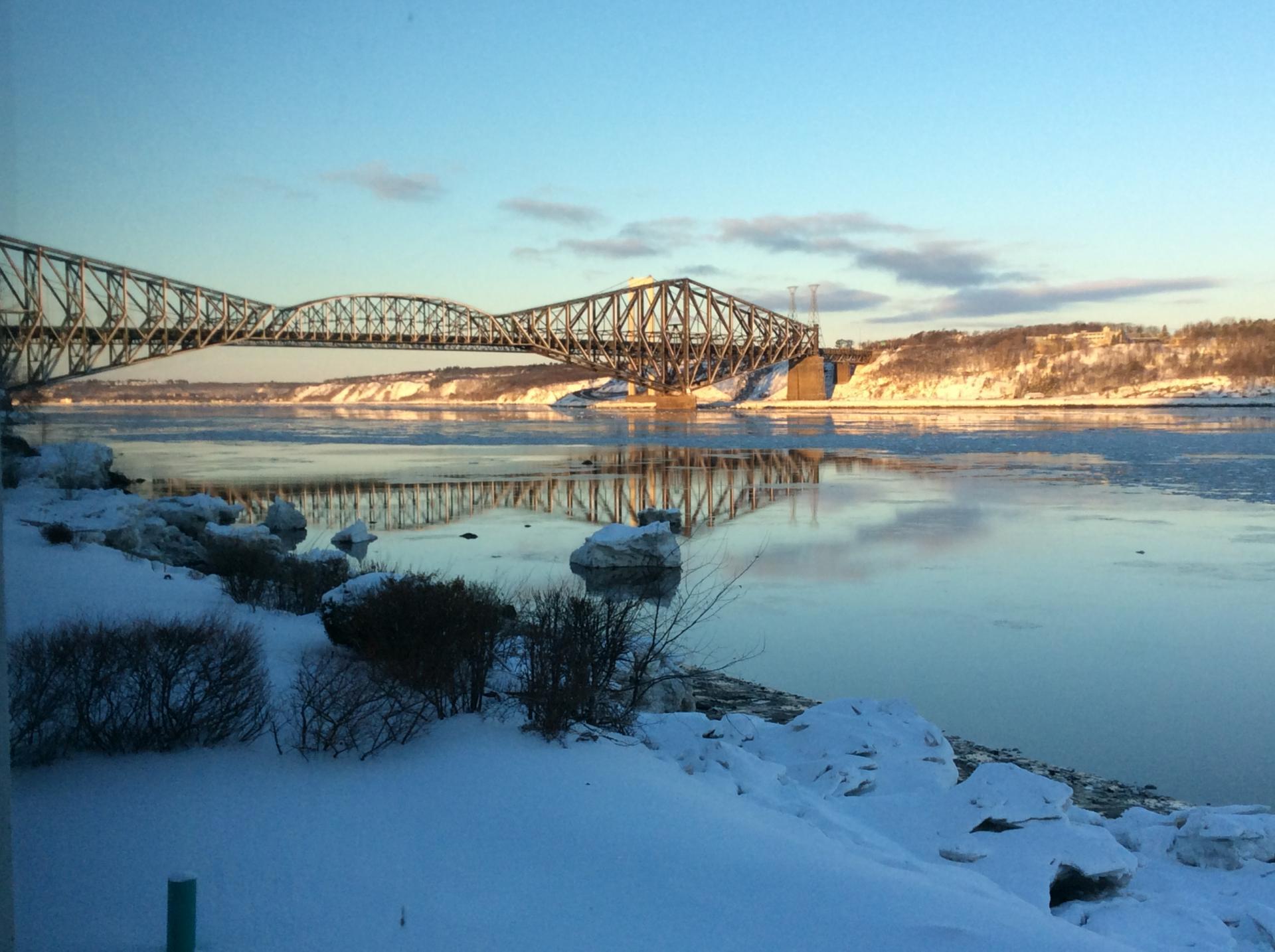 Pont de Québec.